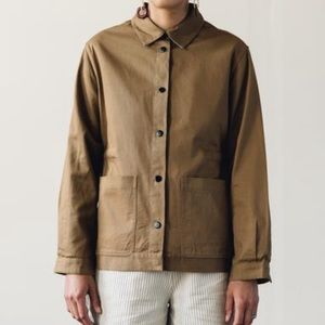 Folk Khaki Button Up Jacket